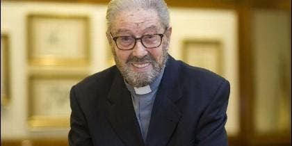 El padre Jaime Garralda, sj