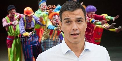 El circo de Pedro Sánchez donde le crecen los enanos
