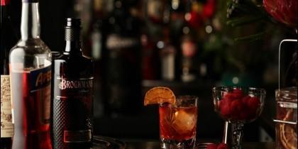 El Negroni de Brockmans Gin.