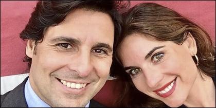 Fran Rivera y su mujer