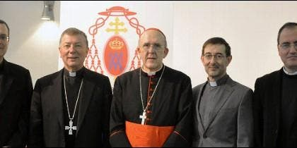 Cardenal Osoro y sus obispos auxiliares