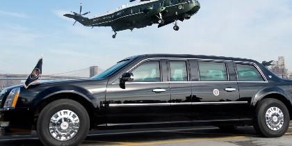 'La Bestia', el coche del presidente de EEUU