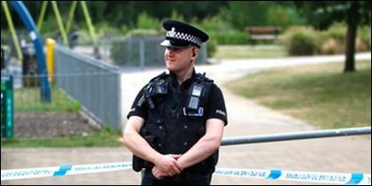 Policía inglés