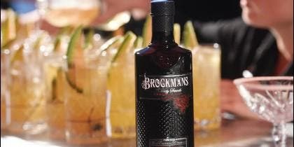 'Press for Gin' by Brockmans Gin.