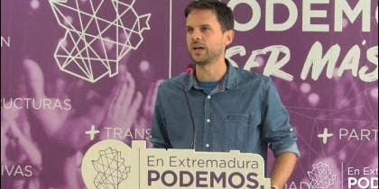 Álvaro Jaén, de Podemos Extremadura