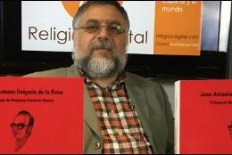 Juan Antonio Delgado presenta su nuevo libro sobre José María Díez Alegría