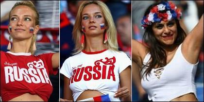 Hinchas rusas