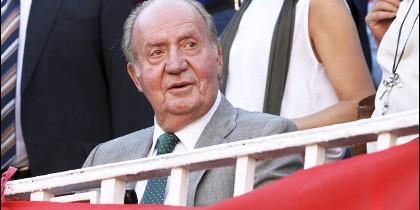 El rey emérito, don Juan Carlos