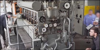 Submarino nazi de la Segunda Guerra Mundial