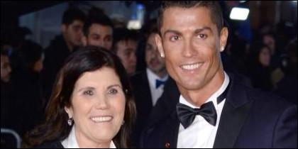 Cristiano y su madre