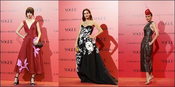 a51e26bed5 Los famosos se decantan por Carolina Herrera para la fiesta 30 ...