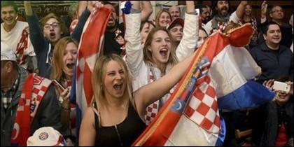 Afición croata