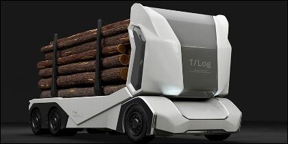 Camión maderero