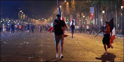 Disturbios en Francia