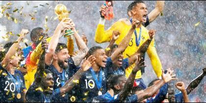Francia gana el Mundial de Rusia