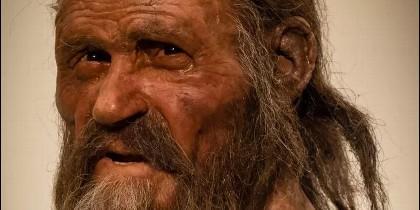 Así era Ötzi, el hombre de hielo.