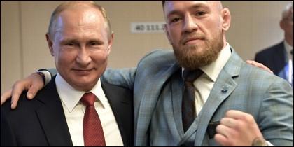 McGregor y Putin.