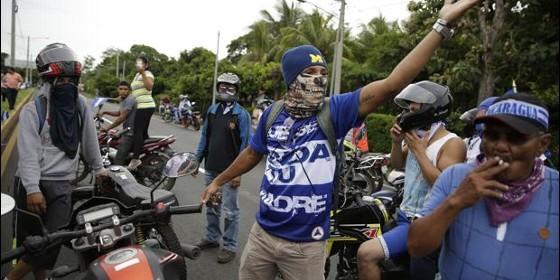 Ataque contra los rebeldes de Masaya — Nicaragua