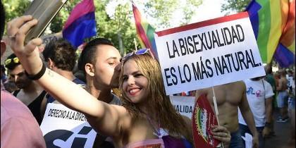 Desfile del Orgullo Gay en Madrid.