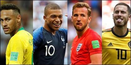 Estrellas del fútbol