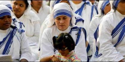 Misioneras de la Caridad en la India
