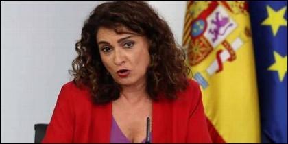 La ministra de Hacienda, María José Montero.
