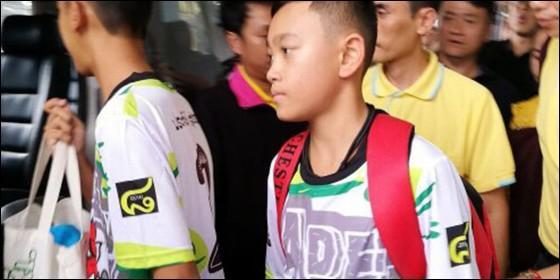 Niños tailandeses
