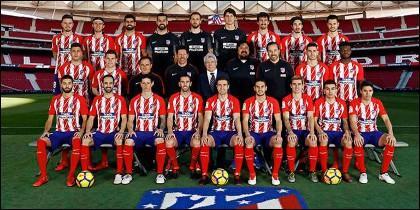 Foto Oficial Atlético de Madrid 1017/18