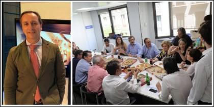 Carlos Cuesta y la comida impostada de Soraya.