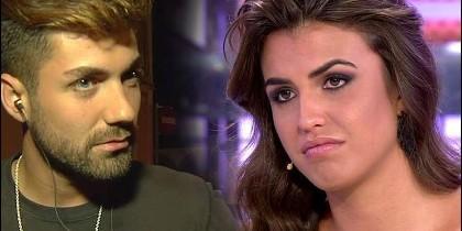 Alejandro Albalá y Sofía Suescun en el 'Polígrafo de Sálvame Deluxe'.