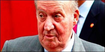 El rey emérito don Juan Carlos