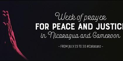Las Escuelas Pías convocan una semana de oración por la paz y la justicia en ambos países