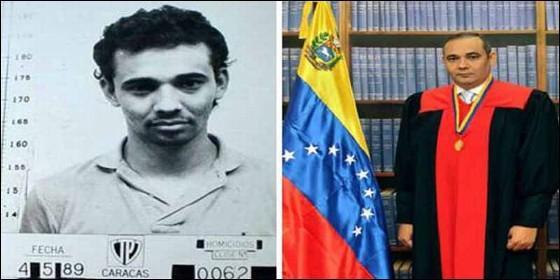 El magistrado Maikel José Moreno Pérez, un temido juez del chavismo que persigue a opositores de la Revolución Bolivariana desde el Tribunal Supremo de Venezuela.