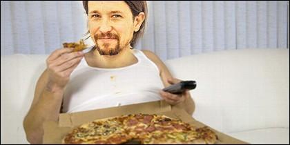 Pablo Iglesias y la Pizza