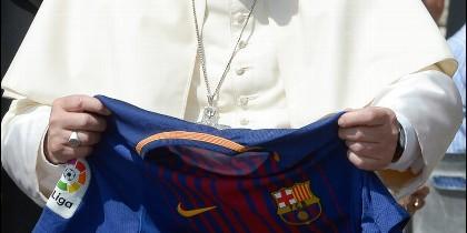 Francisco, con la camiseta de Iniesta