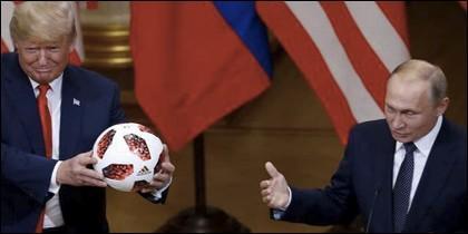 Trump, Putin y la pelota