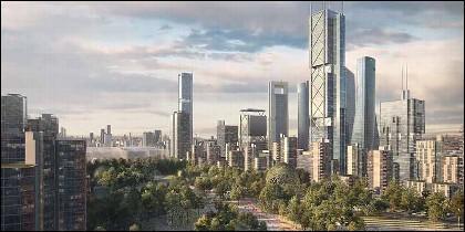 'Operación Chamartín': Madrid Nuevo Norte tendrá tres rascacielos, uno de ellos el más alto de España.