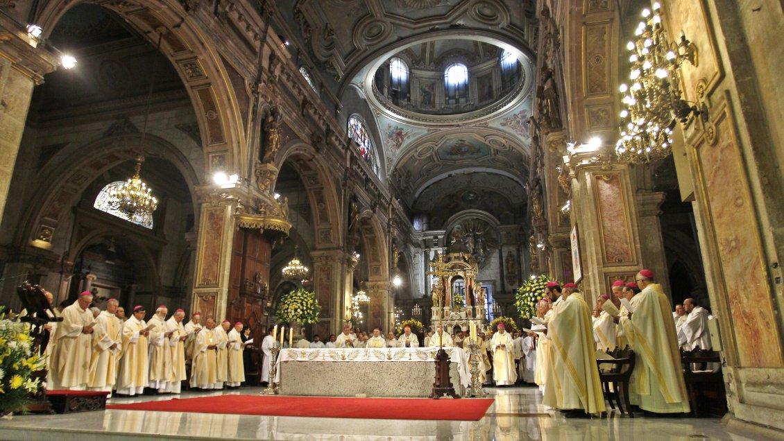 Reunión emergente de obispos chilenos