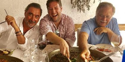 Herrera, Latre y Herrero. FOTO: Herrera/Twitter