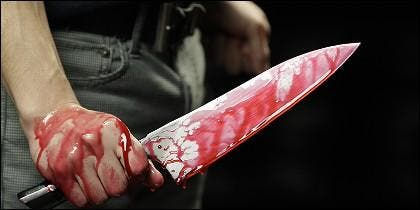 Cuchillo sangre