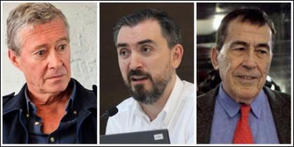 Jorge Verstrynge, Ignacio Escolar y Fernando Sánchez Dragó.