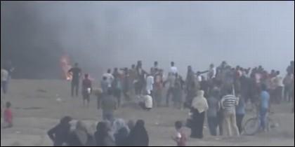 Frontera de Gaza