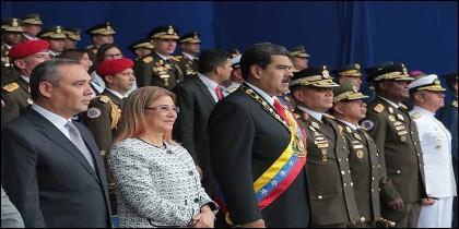 El dictador Nicolás Maduro (VENEZUELA).