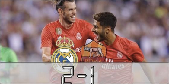 (FOTO) Real Madrid venció a la Roma en Estados Unidos
