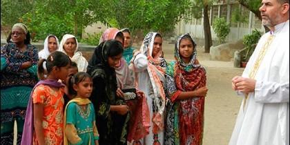 Católicos pakistaníes