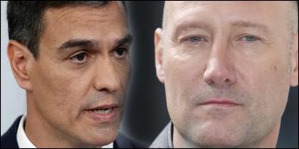 Pedro García Aguado y Pedro Sánchez