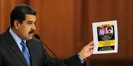 El dictador chavista Nicolás Maduro (VENEZUELA).