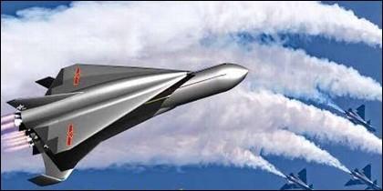 El avión hipersónico chino Starry Sky-2.