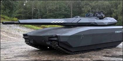 El tanque invisble.