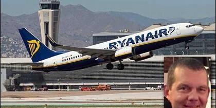 El piloto Jouke Schrale tenía de 45 años, vivía en Málaga junto a su pareja y llevaba más de una década trabajando para Ryanair.